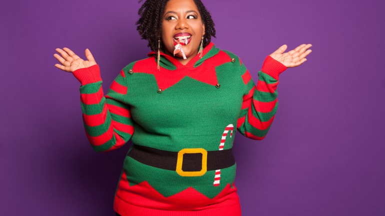 5 Plus Size not that Ugly Sweater for the Holiday Season